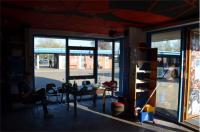 Blick aus dem Cafe